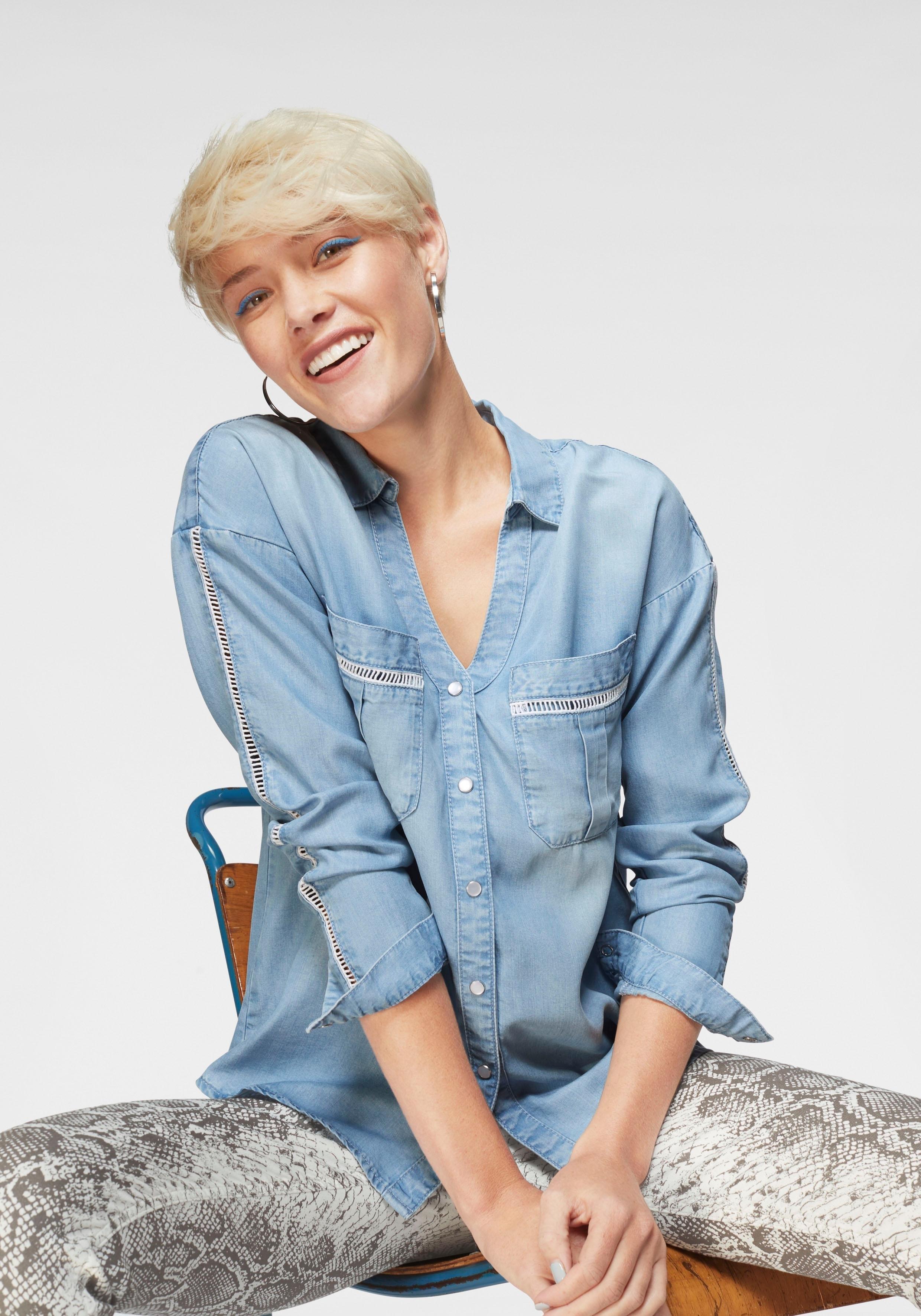 Blue Fire jeansblouse »JENNY« bij OTTO online kopen