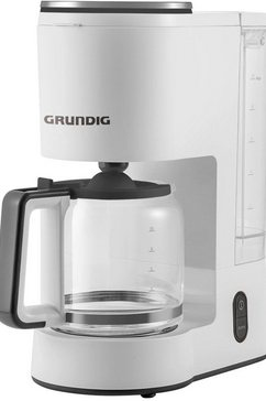 grundig filterkoffieapparaat km 5860, 1,25 l wit
