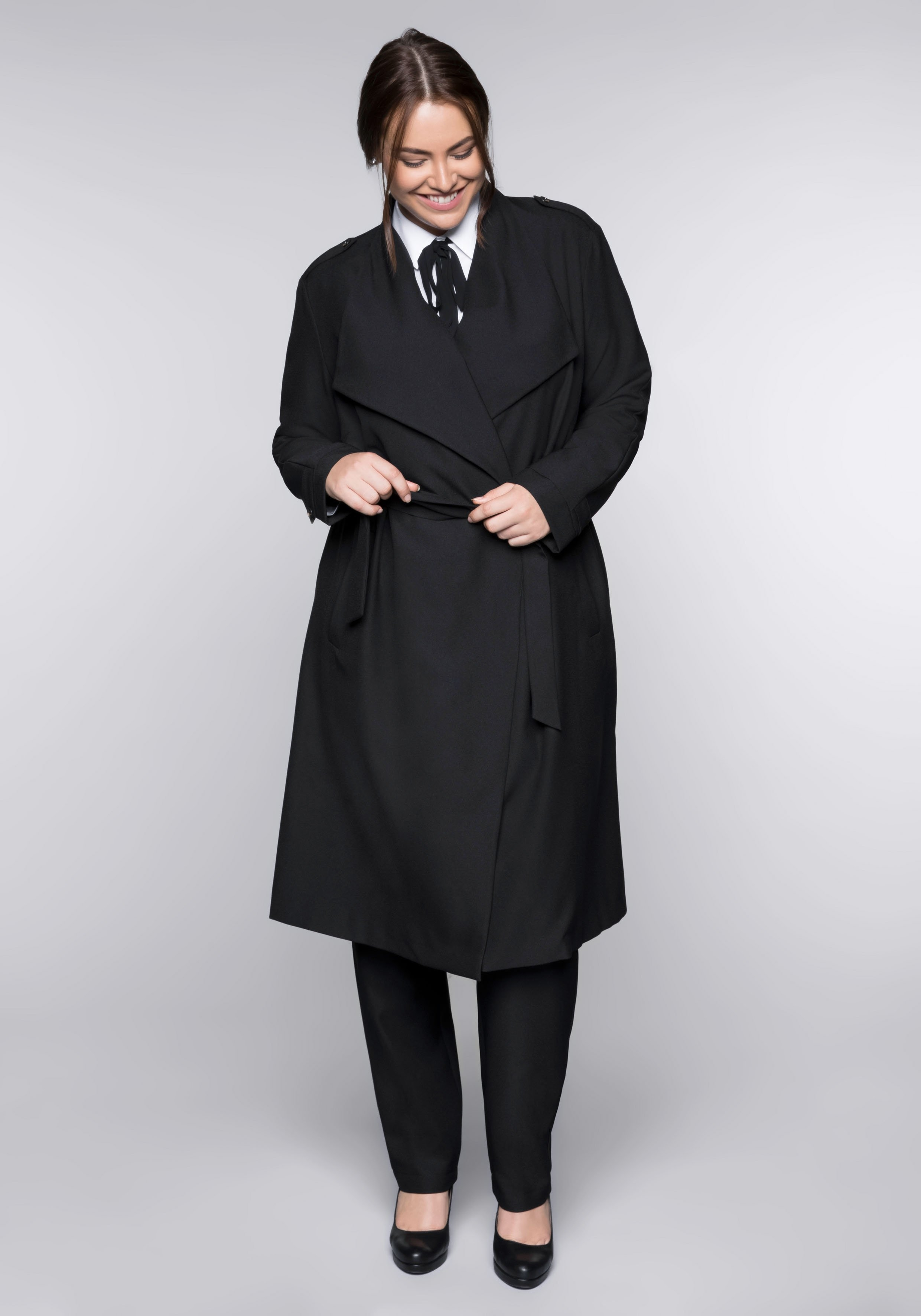 Sheego Style trenchcoat - gratis ruilen op otto.nl