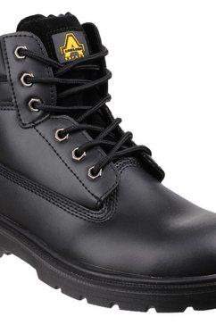 amblers safety werkschoenen »safety fs112 unisex-sicherheitsstiefel« zwart