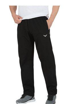 trigema outdoor broek zwart