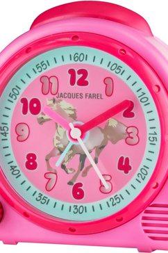 jacques farel kinderwekker happy sound, avc 03hor roze