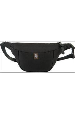 nitro heuptasje hip bag, true black zwart