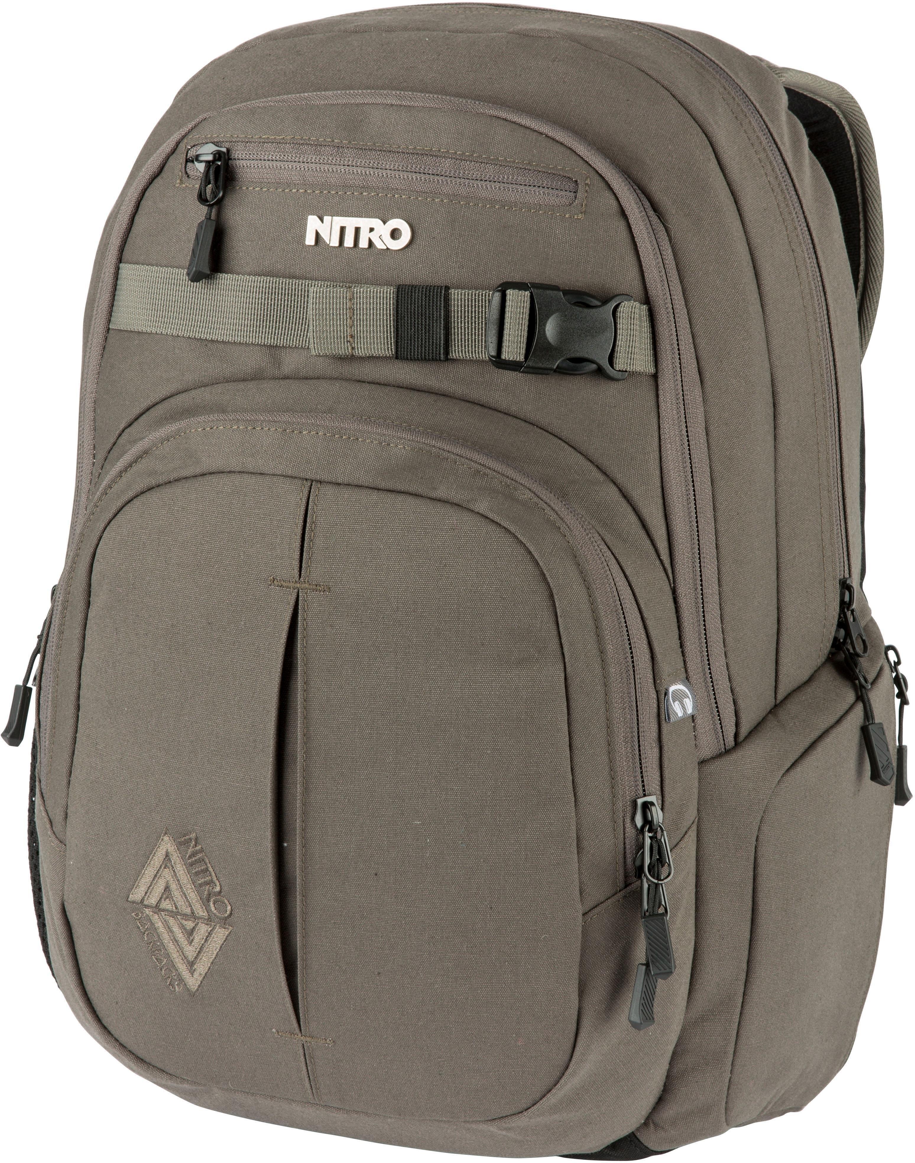 NITRO schoolrugzak met laptopvak, »Chase Waxed Lizard« bij OTTO online kopen