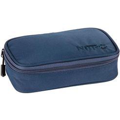 nitro etui, »pencil case xl indigo« blauw