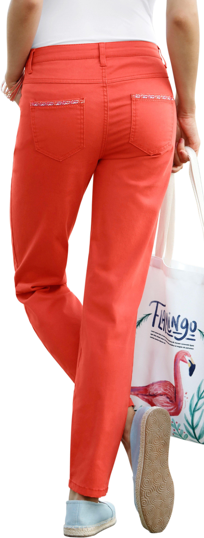 Ambria jeans met fonkelend glansgaren goedkoop op otto.nl kopen