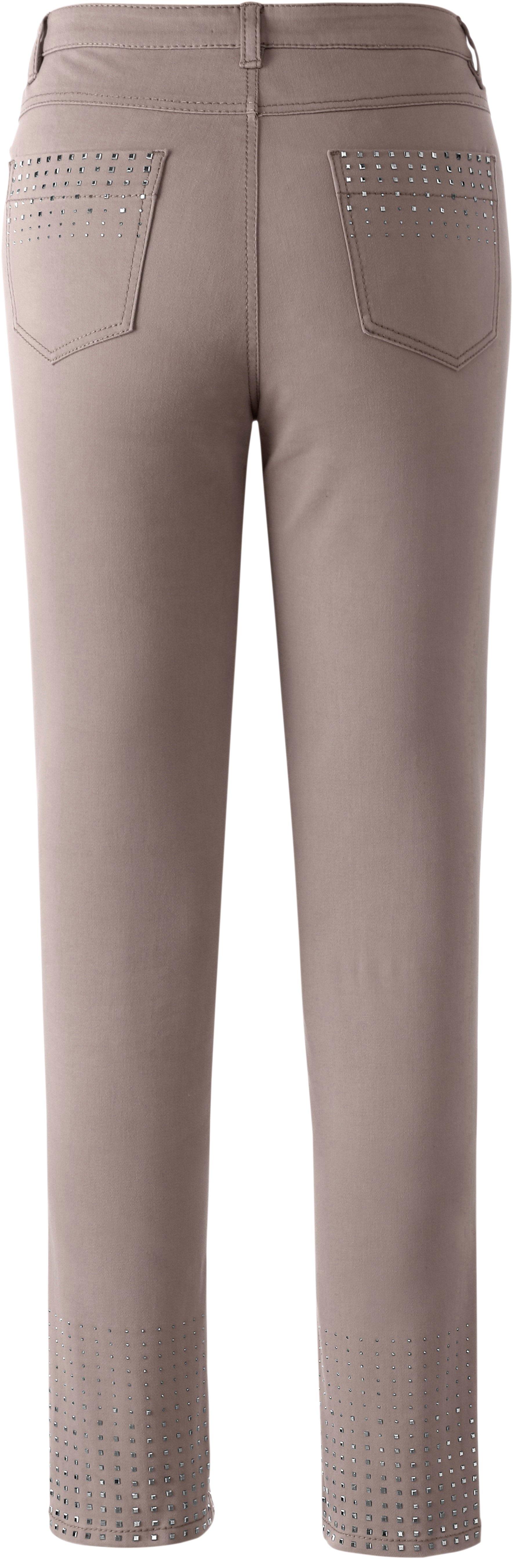 Création L jeans met vierkante lovertjes in de webshop van OTTO kopen