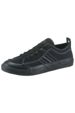 diesel sneakers »s-astico low lace« zwart