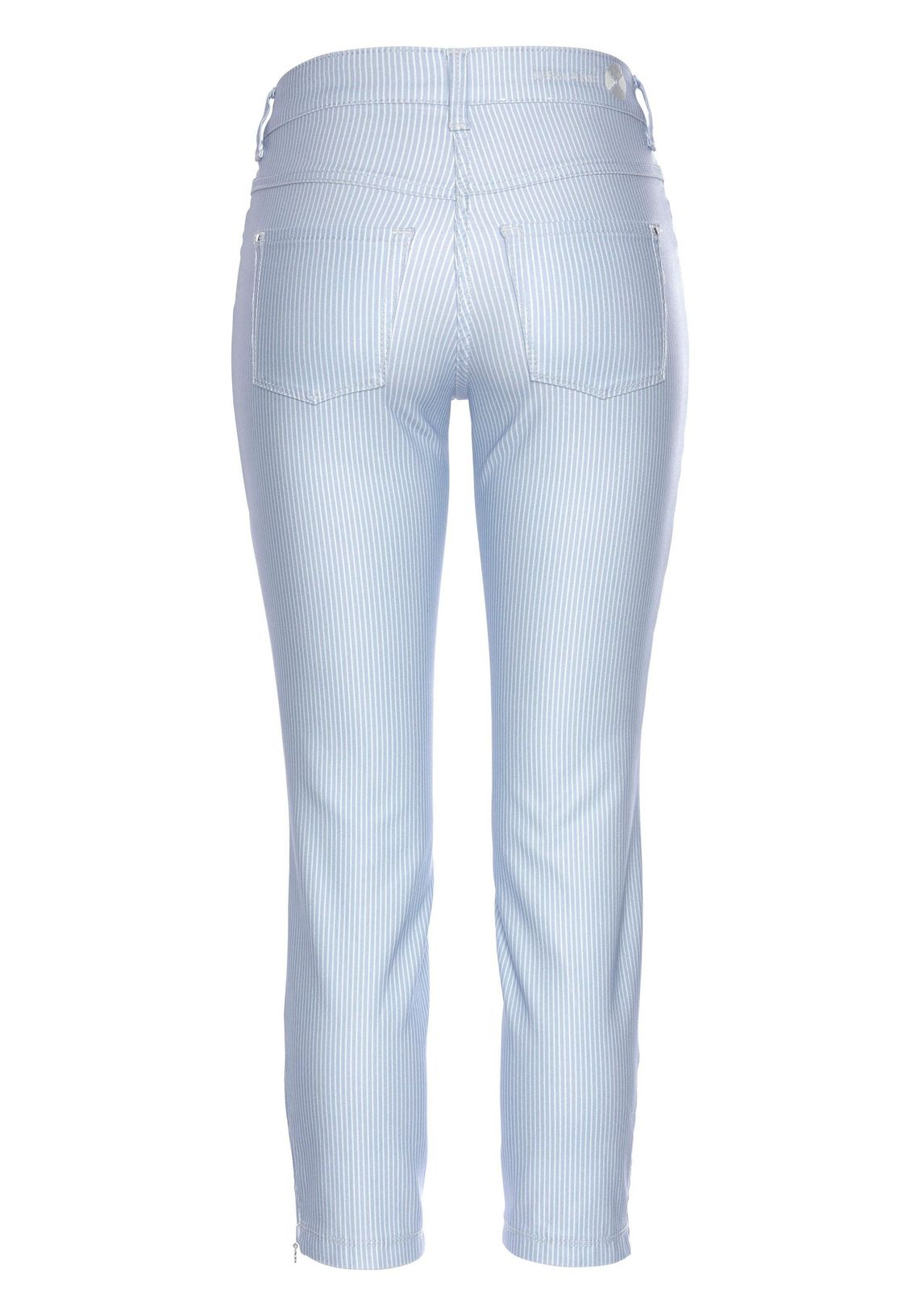 Mac Ankle Jeans Dream Chic Glam Pocket Online Bij Light-blue/white 3PLEzVyD