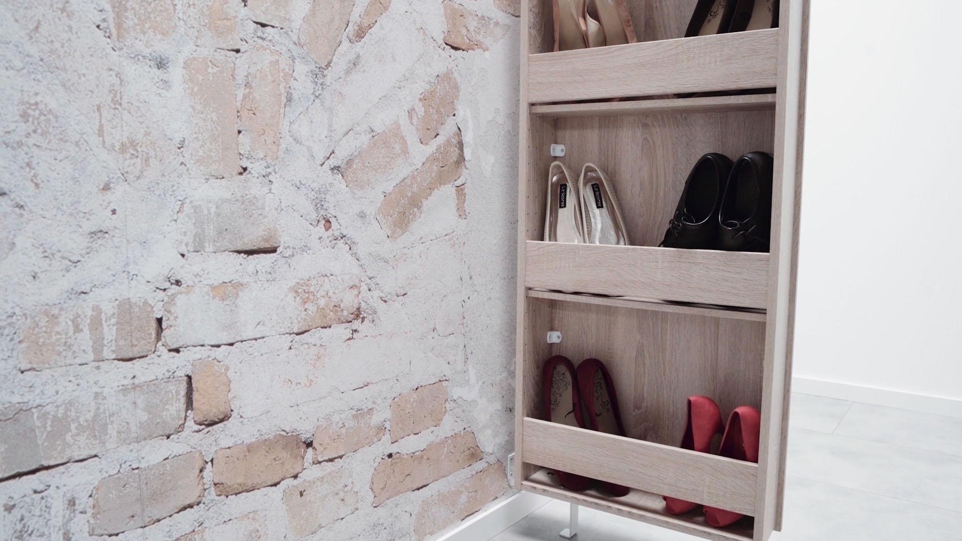 Uitgelezene Draaibare schoenenkast hoogglanzend online shop | OTTO HQ-13
