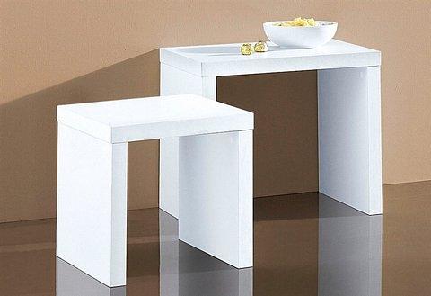 bijzettafeltje in set van 2 online shop otto. Black Bedroom Furniture Sets. Home Design Ideas