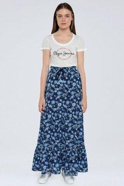 pepe jeans zomerrok margot met gebloemd design multicolor