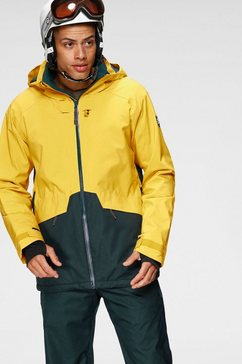 o'neill ski-jack »quartzite jacket« geel