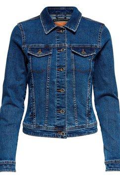 only jeansjack »tia« blauw
