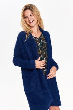 top secret gebreide jas blauw