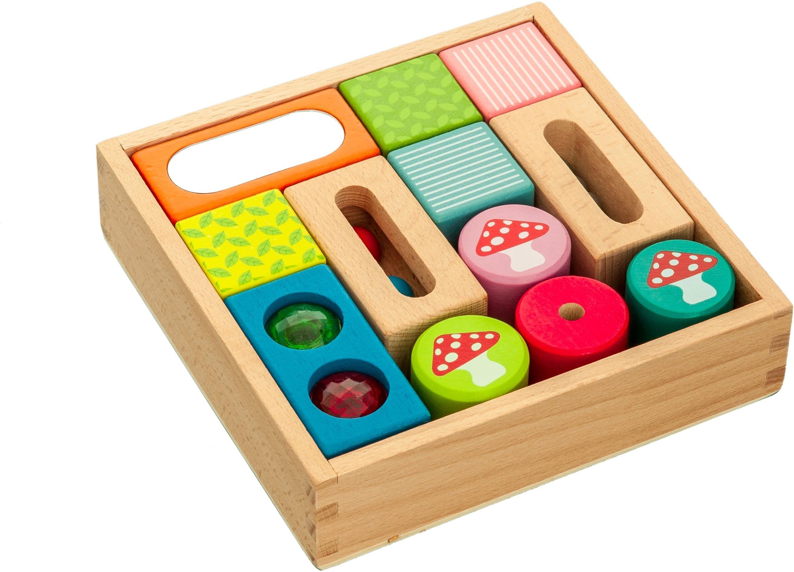 Everearth ® houten speelgoed, »Entdecker-Bauklötze« bestellen: 14 dagen bedenktijd