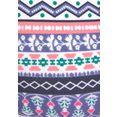 s.oliver red label beachwear triangel-bikinitop barcelona in etno-design blauw