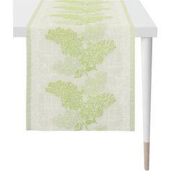 apelt tafelloper 1616 springtime jacquard stof (1 stuk) groen