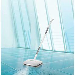 cleanmaxx draadloze vloerreiniger accu-vibratiemop 11,1v wit wit