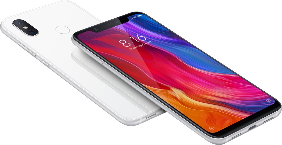 Xiaomi smartphone »MI 8 6 GB + 128 GB« voordelig en veilig online kopen