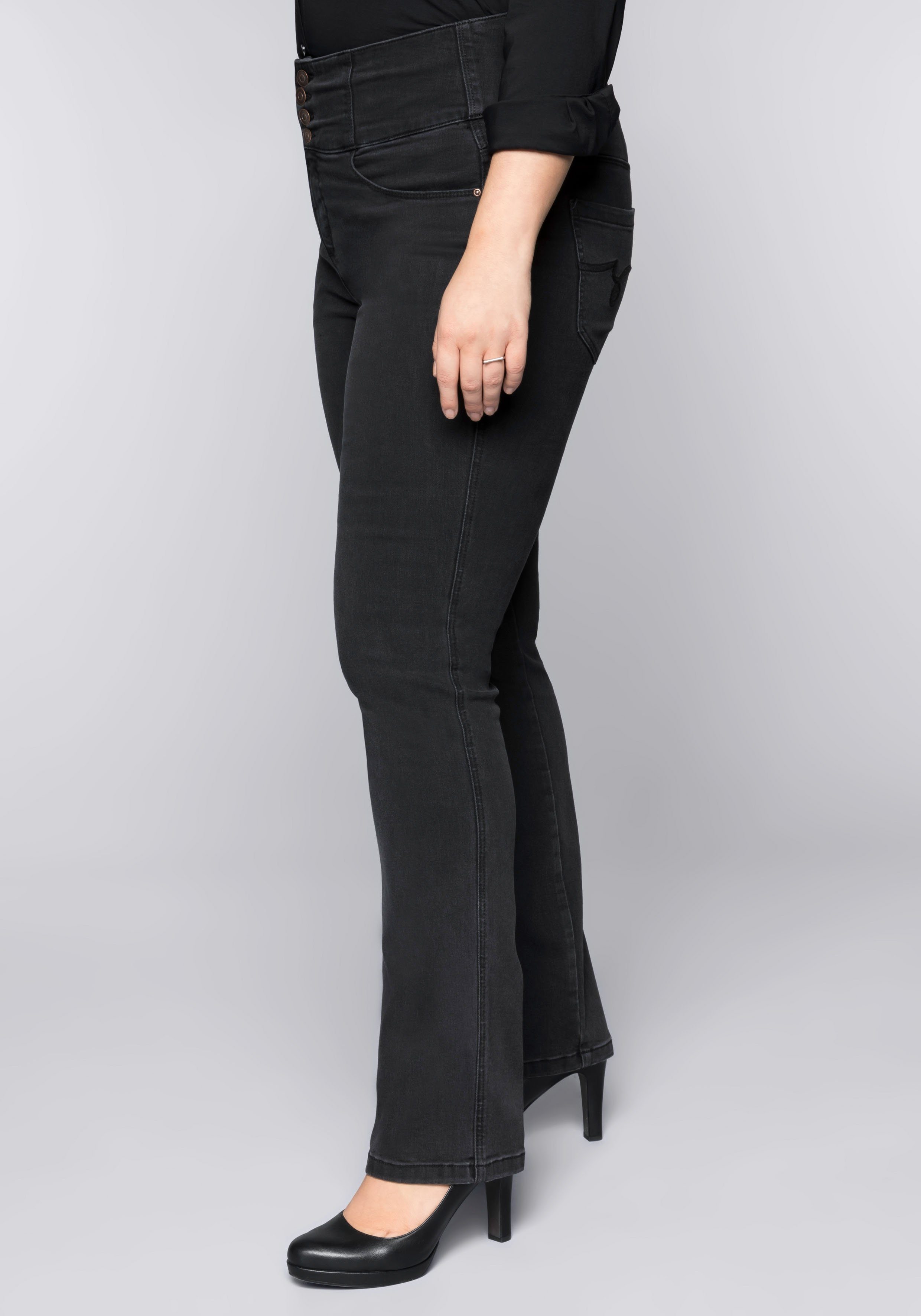 Sheego Denim jeans in recht model - gratis ruilen op otto.nl
