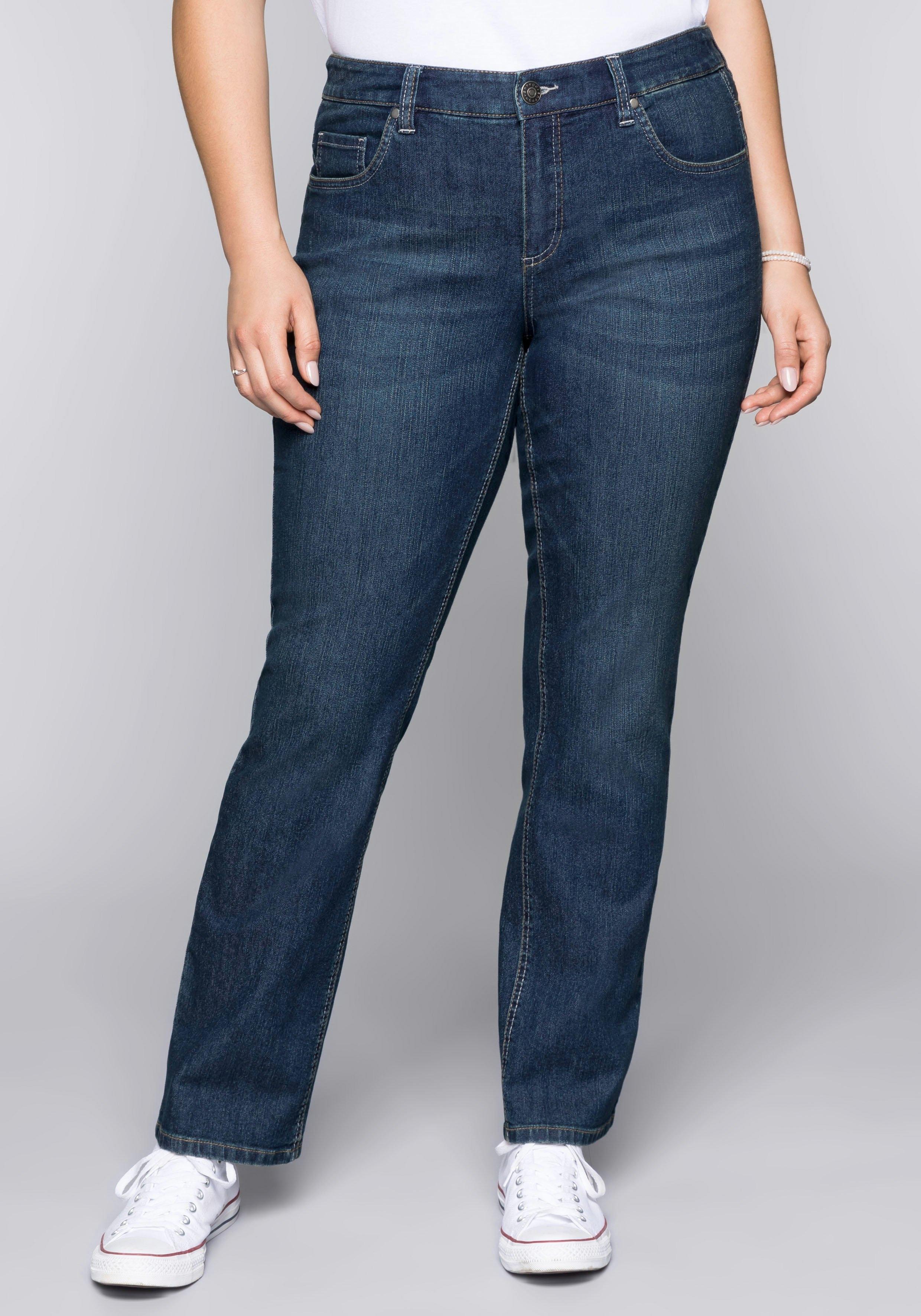 Sheego Denim stretch jeans in de webshop van OTTO kopen