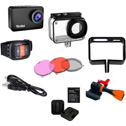 Rollei Actioncam 550 Touch actiesportcamera 4K Ultra HD 12 MP 25,4-2,33 mm (1-2.33) Wi-Fi 62 g
