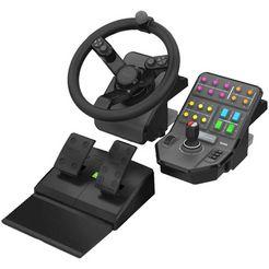 logitech games game controller g saitek farm sim controller zwart