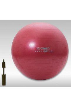 christopeit sport gymnastiekbal, 65 cm rood - 75 cm blauw rood