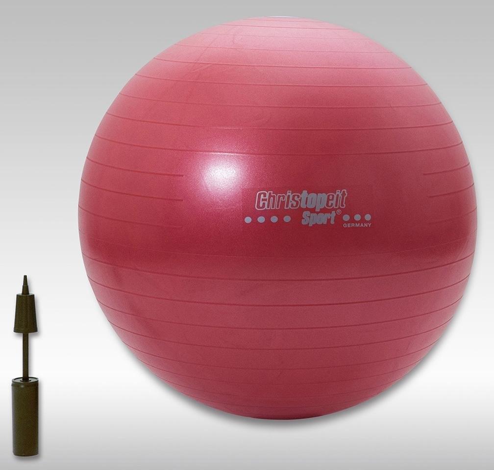 Christofeit Sport CHRISTOPEIT SPORT® gymnastiekbal, 65 cm rood / 75 cm blauw nu online kopen bij OTTO