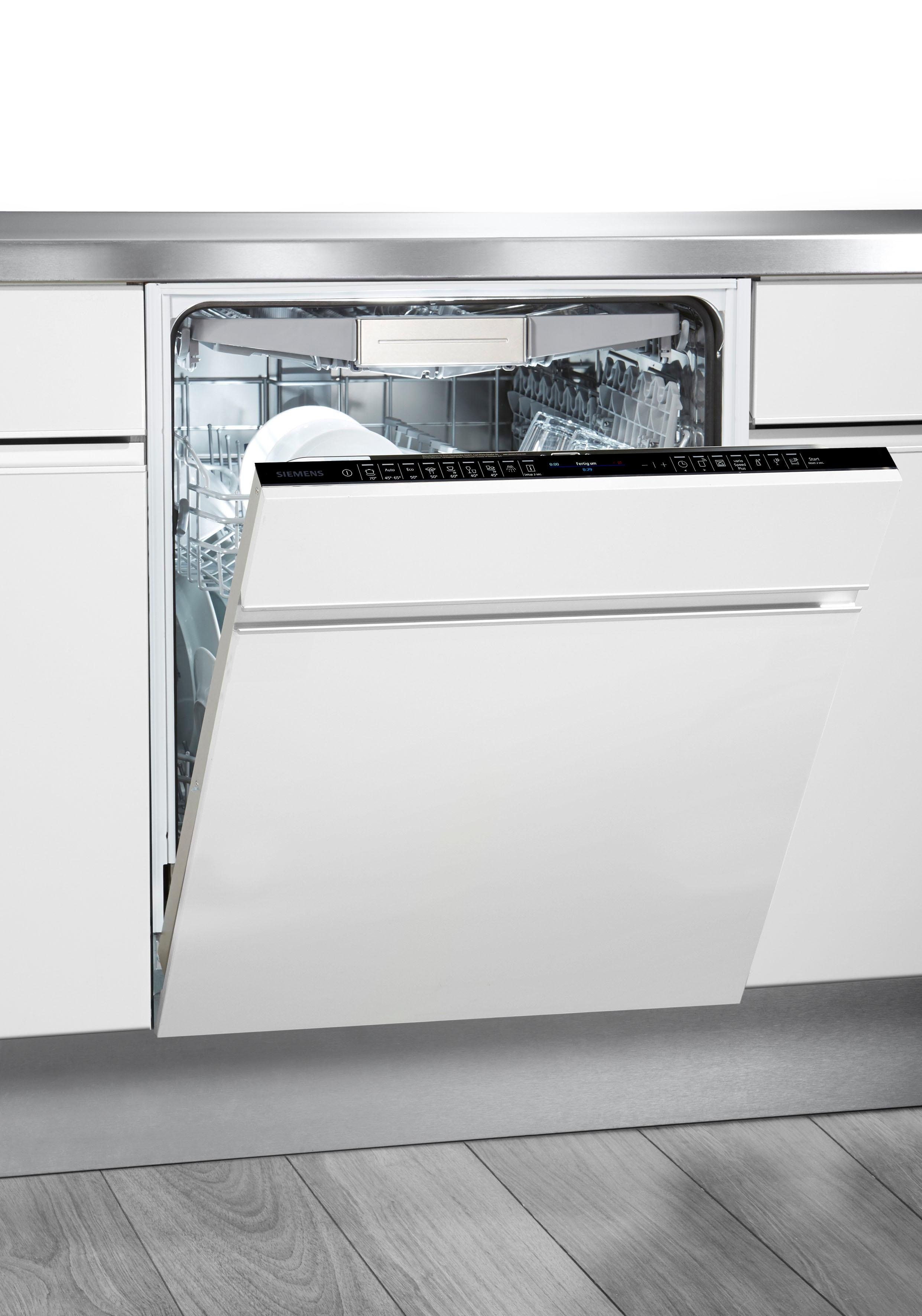 Siemens volledig integreerbare vaatwasser iQ700 SX678X36TE, A+++, 7,5 liter, 13 standaardcouverts voordelig en veilig online kopen