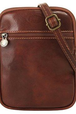 piké schoudertas bijzonder licht (1-delig) bruin