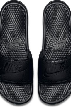 nike badslippers »benassi just do it« zwart