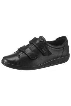 ecco klittenbandschoenen zwart