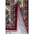sehrazat vloerkleed ornament 1349 korte pool, orint-look, met franje, woonkamer rood