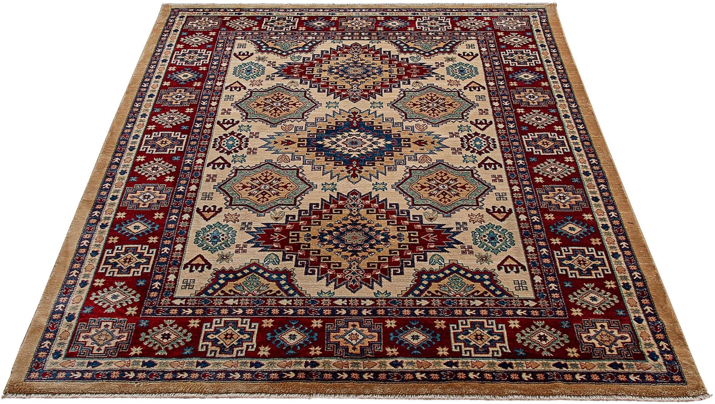 Sehrazat Vloerkleed, »Ornament 1354«, rechthoekig, hoogte 10 mm, machinaal geweven bij OTTO online kopen