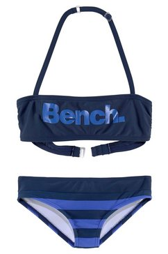 bandeaubikini, bench blauw