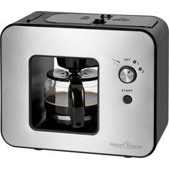 proficook koffiezetapparaat met maalwerk pc-ka 1152, koffiekan 0,5 l zwart