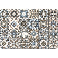 queence set placemats »ps0066«, queence (set, 4-delig) multicolor