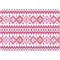 queence set placemats »ps0070«, queence (set, 4-delig) roze