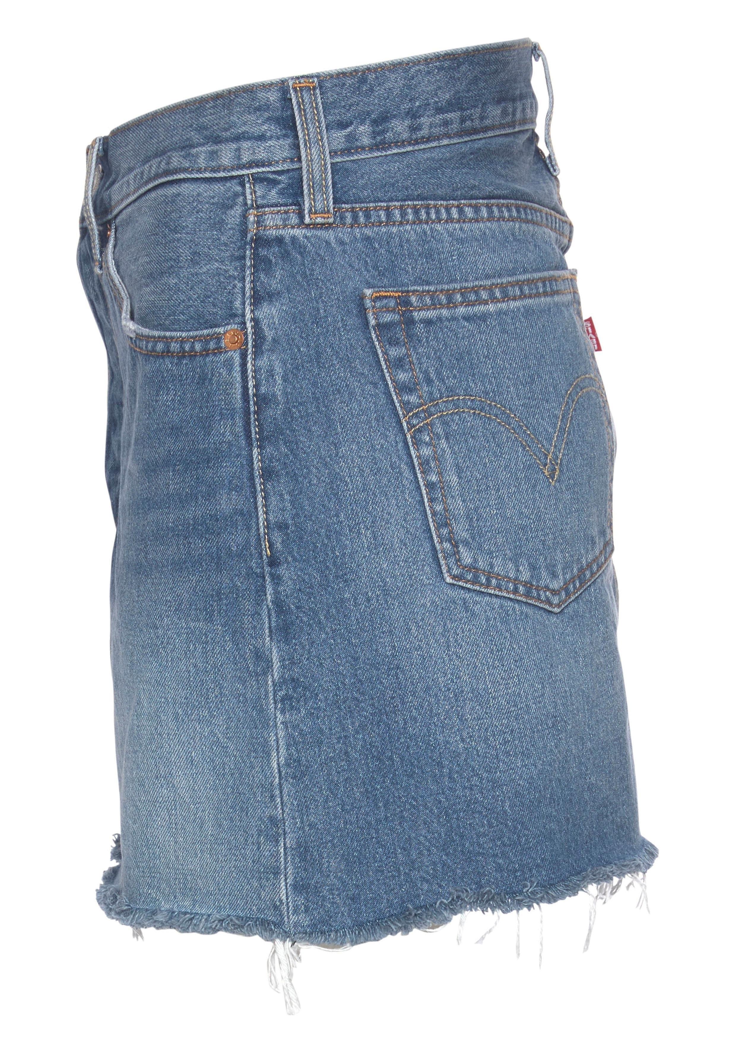 de82c55a025422 Levi s® jeansrok »Deconstructed Skirt« vind je bij