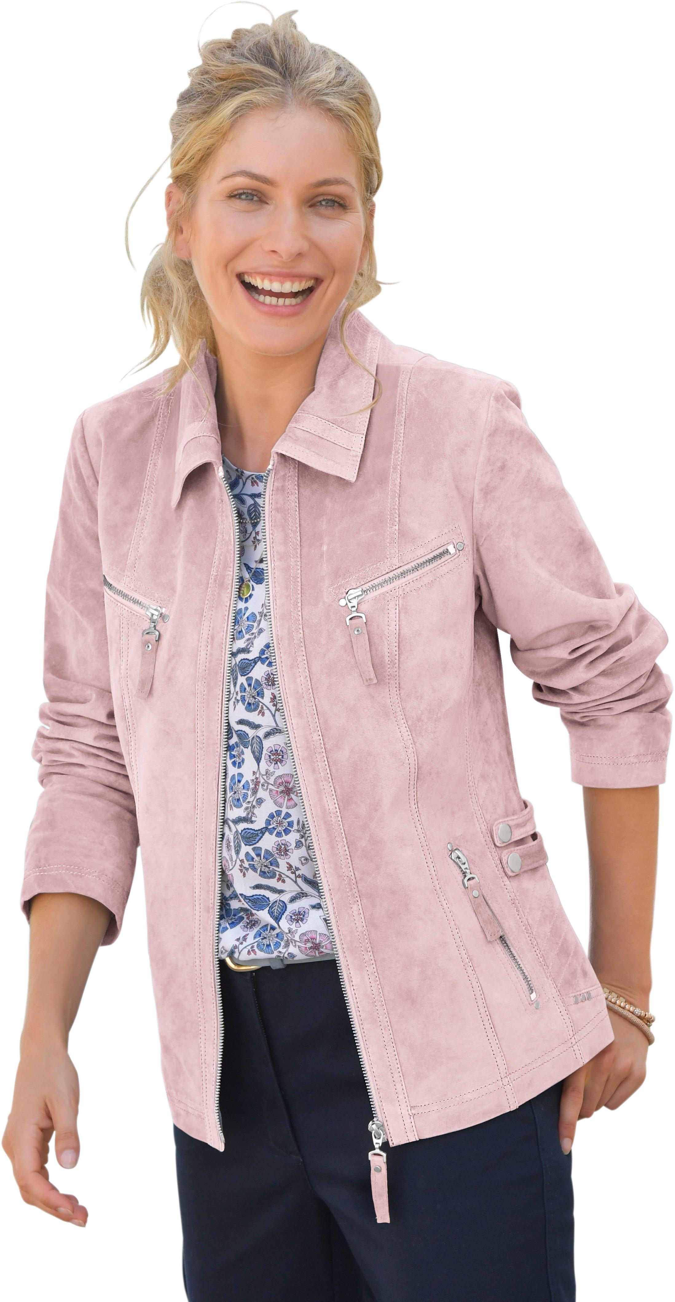 Op zoek naar een Mainpol leren jasje in getailleerd model? Koop online bij OTTO