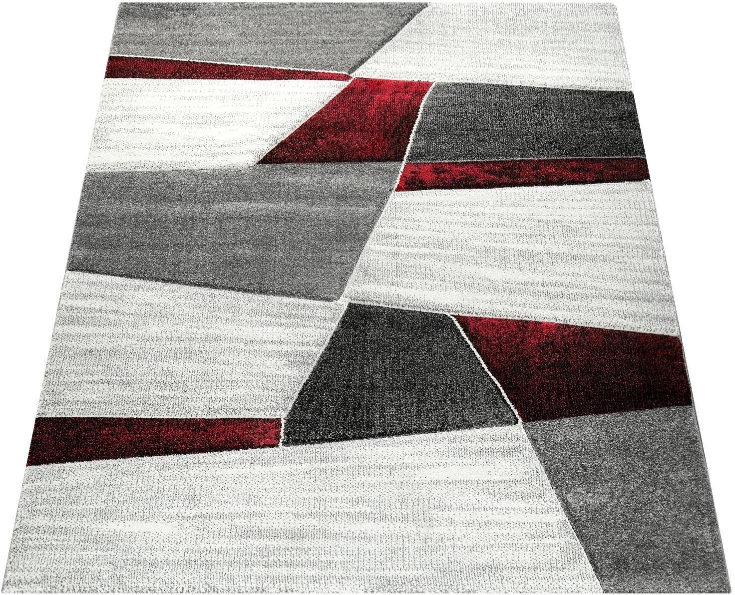 Paco Home Vloerkleed, »Diamond 662«, rechthoekig, hoogte 18 mm bij OTTO online kopen