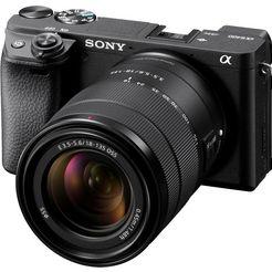sony »ilce-6400mb - alpha 6400 e-mount« systeemcamera (24,2 mp, bluetooth wifi nfc) zwart