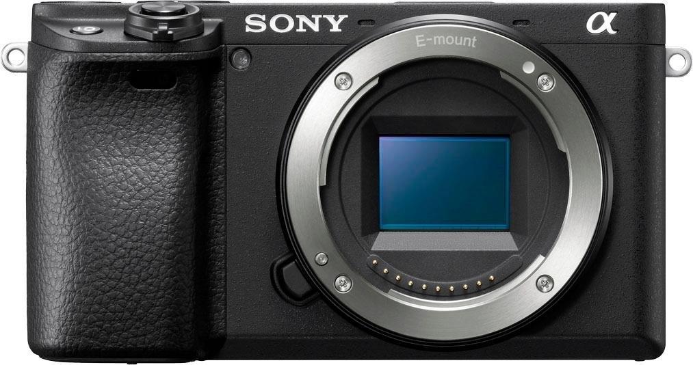 Sony systeemcamera ILCE-6400B - Alpha 6400 E-Mount 4k video, 180° klep-display, nfc, bluetooth, wifi (wifi), enkel behuizing nu online kopen bij OTTO