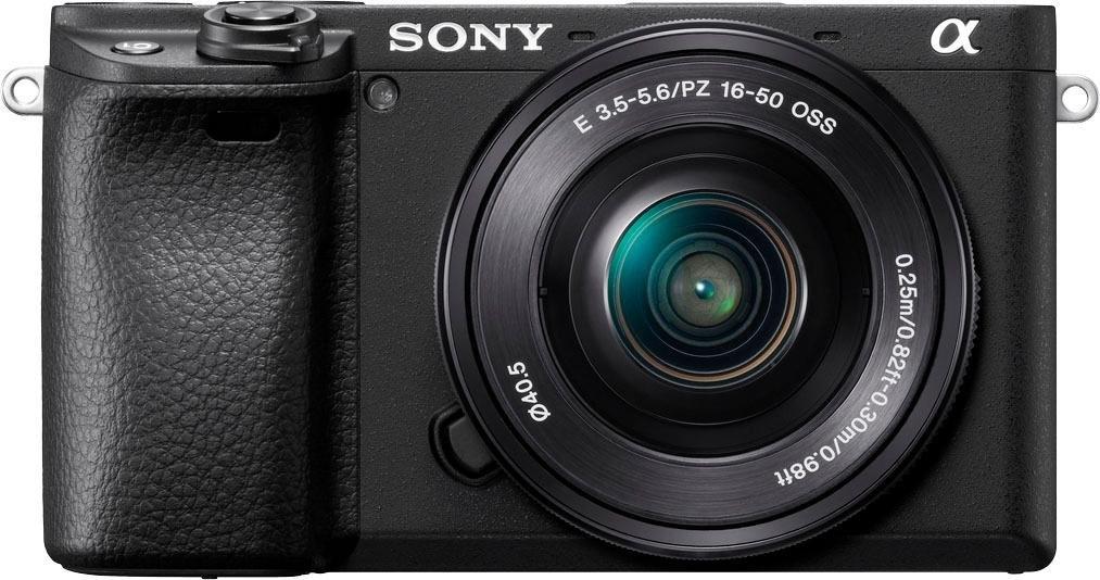 Sony systeemcamera ILCE-6400LB - Alpha 6400 E-Mount 4k video, 180° klep-display, xga oled-zoeker, l-kit 16-50 mm objectief nu online bestellen