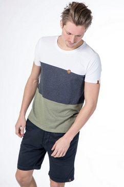 alife and kickin shirt met ronde hals »ben a« multicolor