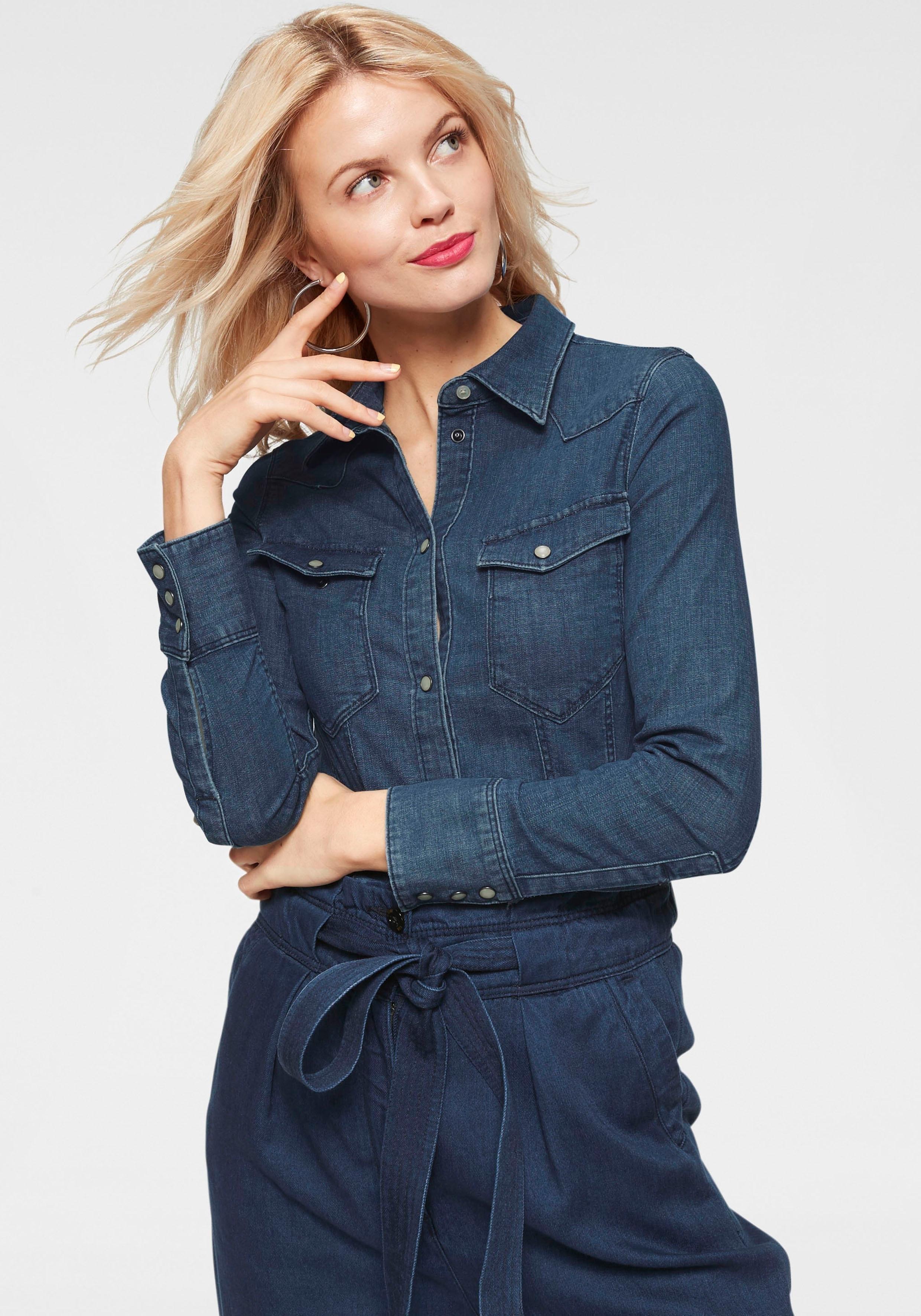 G-star Raw jeansblouse »Tacoma slim shirt wmn l/s« voordelig en veilig online kopen