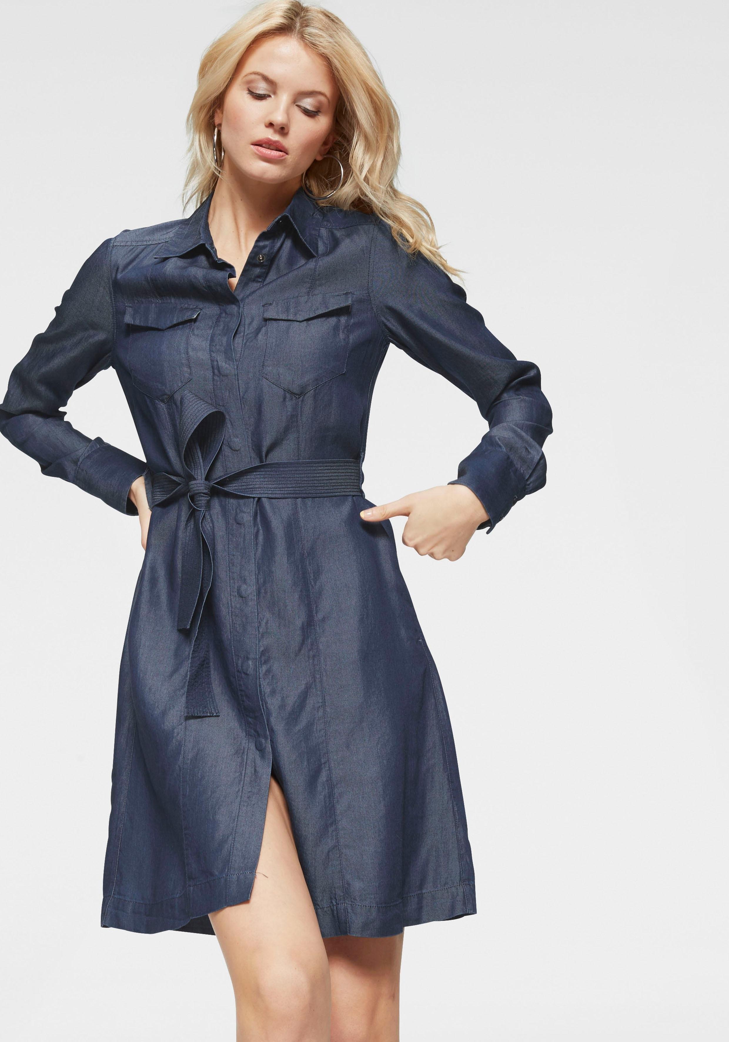 G-star Raw jeansjurk »Tacoma straight shirt dress« bij OTTO online kopen
