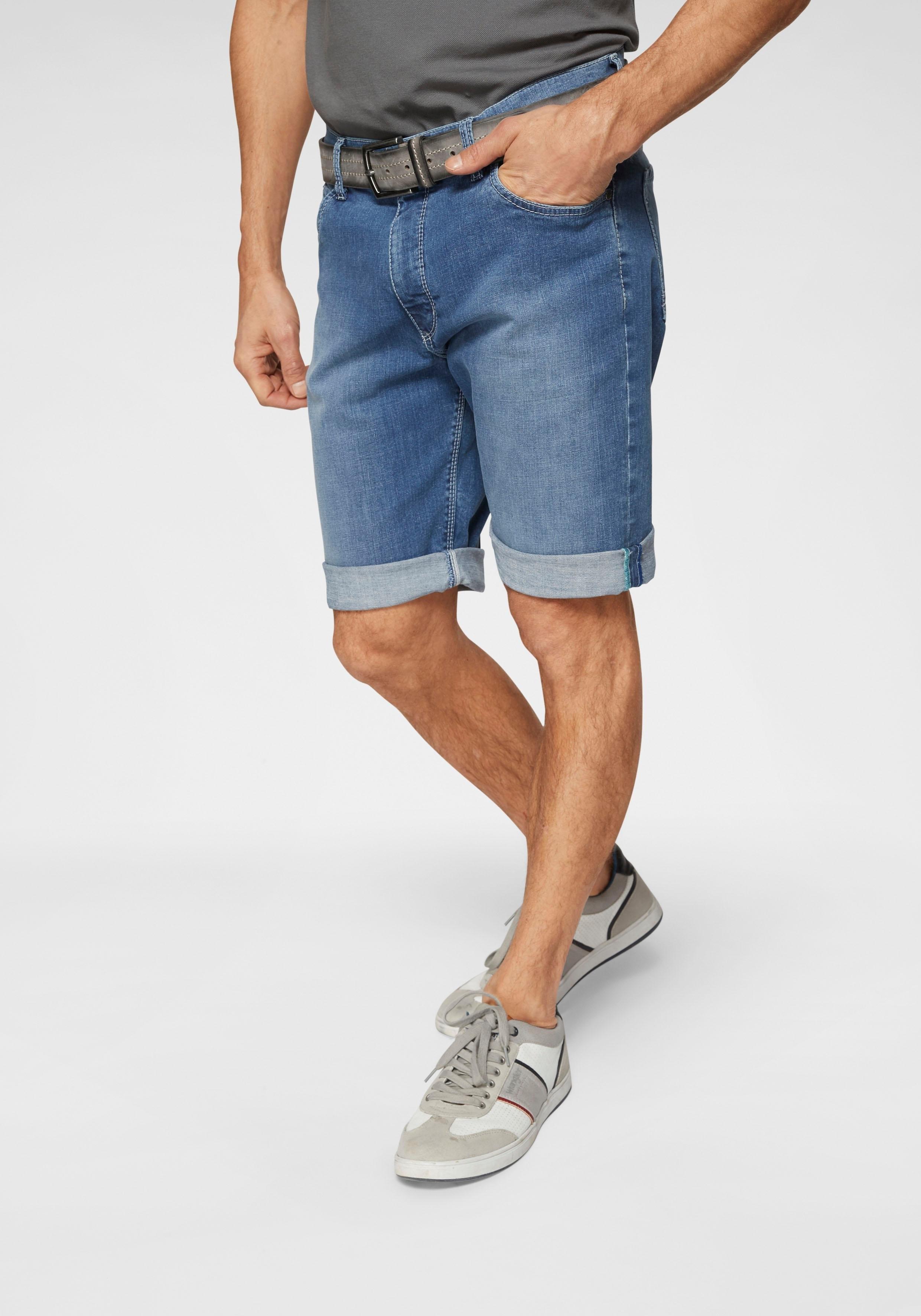 Pionier jeansshort »Kevin« nu online kopen bij OTTO